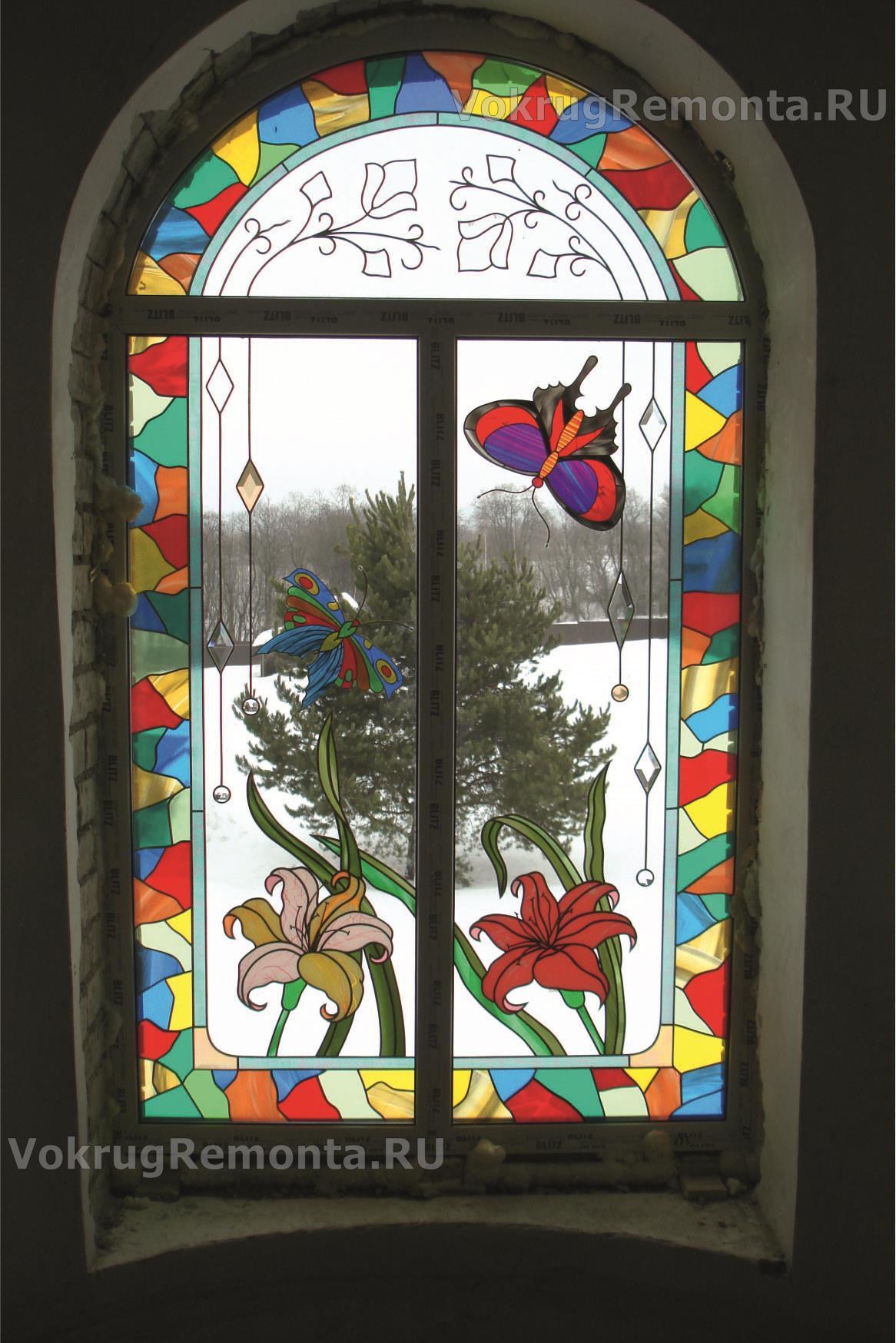 Обои лестница, Цвет, Витраж, стекло, окно. Города foto 9